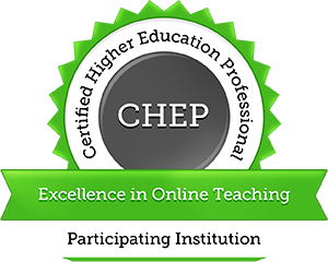 CHEP in Online Teaching Seal