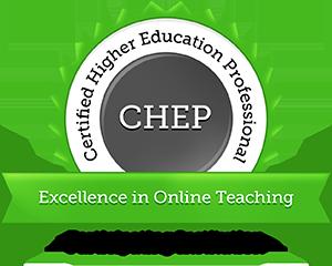 CHEP in Online Teaching Seal