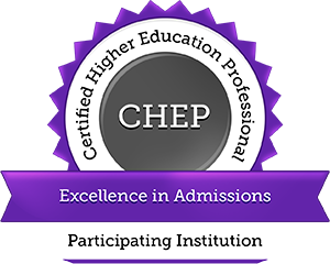 CHEP in Admissions Seal